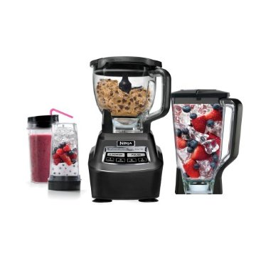 Ninja BL770 MEGA Kitchen System 1500 with Blender, Food Processor and Single Serve