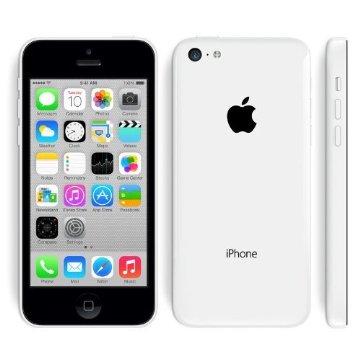 Apple iPhone 5c 32GB Factory Unlocked GSM Phone (White)