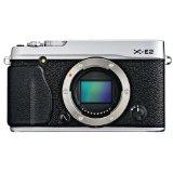 Fujifilm X-E2 16.3MP Compact System Digital Camera (Body Only, Silver)