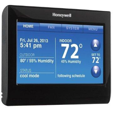 Honeywell RTH9590WF1003/U Wi-Fi Smart Thermostat with Voice Control
