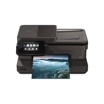 HP Photosmart 7520 e-All-in-One Wireless Color Photo Printer with Scanner, Copier and Fax