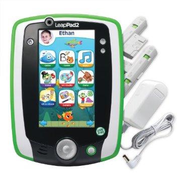 LeapFrog LeapPad2 Power Learning Tablet (Green)