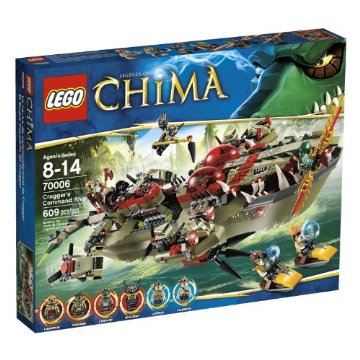 LEGO Chima Cragger Command Ship (70006)