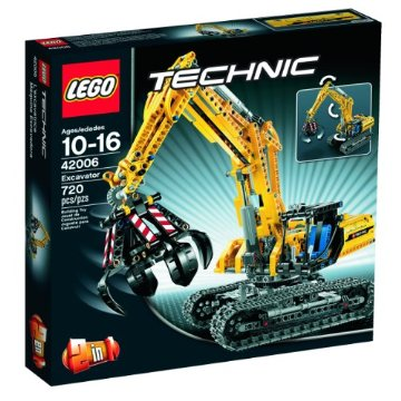 LEGO Technic Excavator Set (42006)
