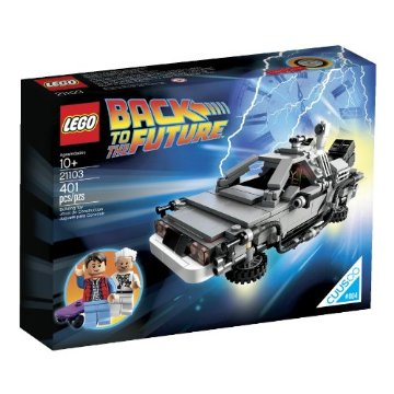 Lego The DeLorean Time Machine Building Set (21103)