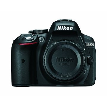Nikon D5300 24.2MP Digital SLR Camera with Built-in Wi-Fi and GPS (Body Only)
