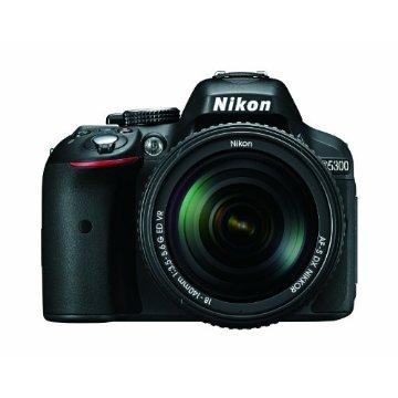 Nikon D5300 24.2MP Digital SLR Camera with 18-140mm f/3.5-5.6G ED VR AF-S DX Zoom Lens