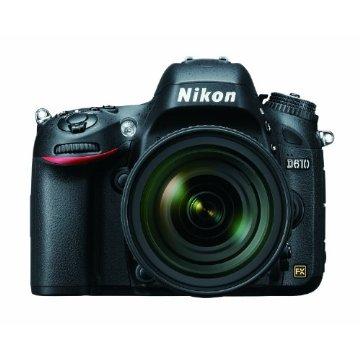 Nikon D610 24.3MP FX-Format Digital SLR Camera Kit with 24-85mm f/3.5-4.5G ED VR AF-S Lens