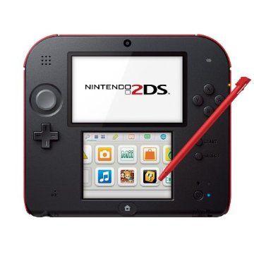 Nintendo 2DS System (Crimson Red)