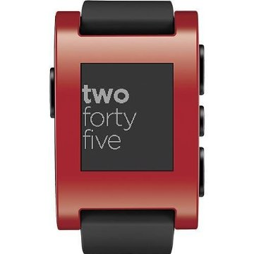 Pebble Smart Watch for iPhone and Android (301RD, Red)