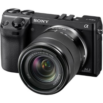 Sony Alpha NEX-7 24.3MP Compact Interchangeable Lens Camera with 18-55mm Lens