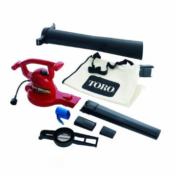 Toro Ultra 3-in-1 Electric Blower, Vacuum, and Leaf Shredder with Metal Impeller (51609)