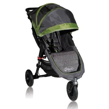 Baby Jogger City Mini GT Single Stroller (Shadow/Green)