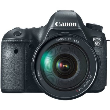 Canon EOS 6D 20.2MP Digital SLR Camera with EF 24-105mm IS Lens Kit