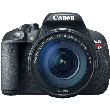 Canon Rebel T5i Digital SLR Camera with 18-135mm EF-S IS STM Lens Kit