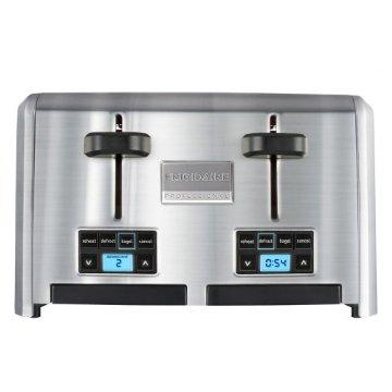 Frigidaire Professional 4-Slice Wide Slots Toaster (FPTT04D7MS)