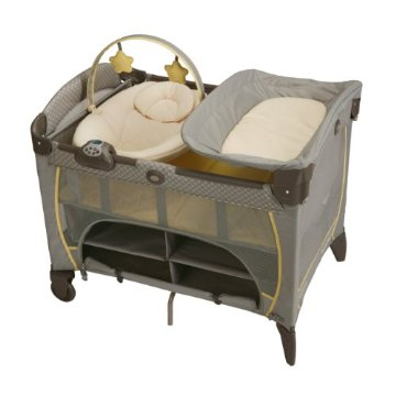 Graco Pack 'n Play Playard with Newborn Napper Station DLX (Peyton)