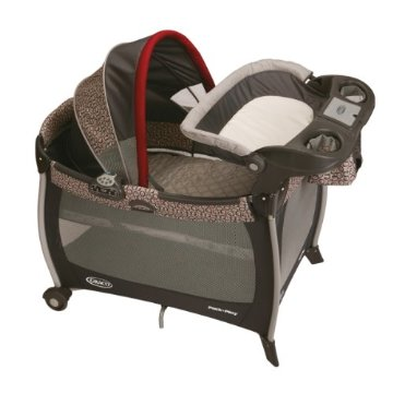 Graco Pack 'n Play Silhouette Playard with Canopy, Changer & Music  (Finley)