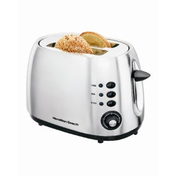 Hamilton Beach 2-Slice Toaster (Brushed Metal)