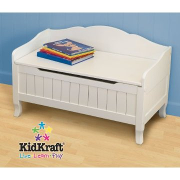 Kidkraft Nantucket Toy Box (White)