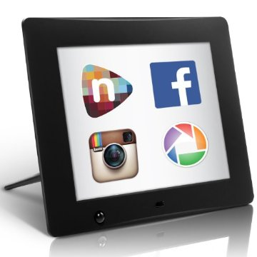 nixplay Wi-Fi Cloud Digital Photo Frame. All your Facebook, Instagram, Picasa and Personal Photos on one Frame