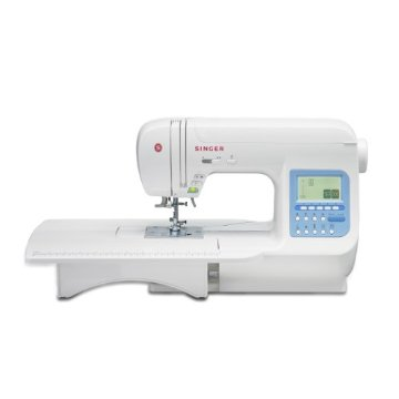Singer 9970 Quantum Stylist Sewing Machine with Extension Table, Bonus Accessories and Hard Cover