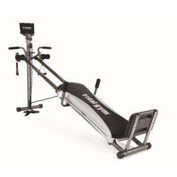 Total Gym 1400 Deluxe Home Fitness Exercise Machine with Workout DVD