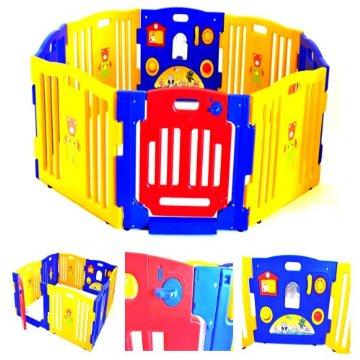 Baby Playpen Kids 8 Panel Indoor/Outdoor Playard