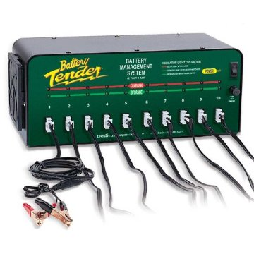 Battery Tender 10-Bank 12V Battery Management System (021-0134)