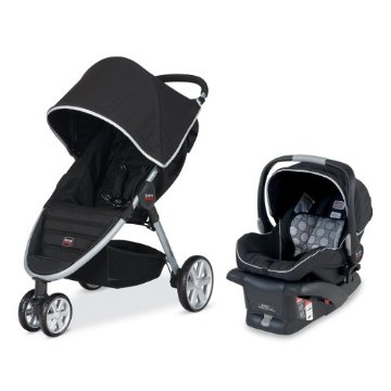 Britax B-Agile and B-Safe Travel System (Black)
