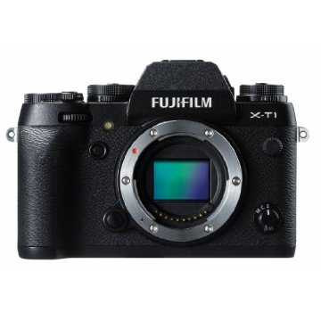 Fujifilm X-T1 16MP Compact System Camera (Black, Body Only)