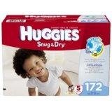 Huggies Snug & Dry Diapers Economy Plus Pack (Size 5, Pack of 172)