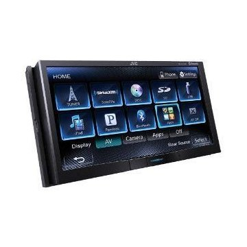JVC KW-AV71BT DVD Bluetooth Receiver with 7 Touchscreen