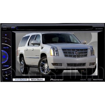 "Pioneer AVH-X1600DVD 2-DIN Multimedia DVD Receiver with 6.1"" Touchscreen, MixTrax"