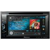 Pioneer AVH-X2600BT 2-Din Multimedia DVD Receiver with 6.1 Touchscreen, Bluetooth