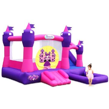 Blast Zone Princess Palace Bouncer with Slide