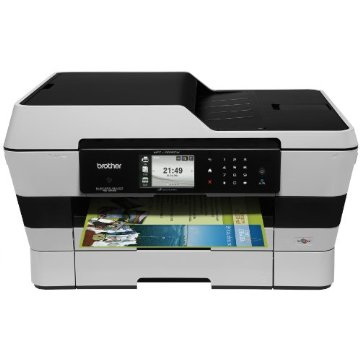 Brother MFC-J6920DW Color Inkjet Multi-Function Center with Scanner, Copier and Fax