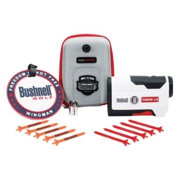 Bushnell Tour V3 Jolt Golf Rangefinder Patriot Pack