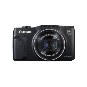 Canon PowerShot SX700 HS Digital Camera (Black)