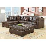 Coaster Darie Sectional Sofa (Brown)