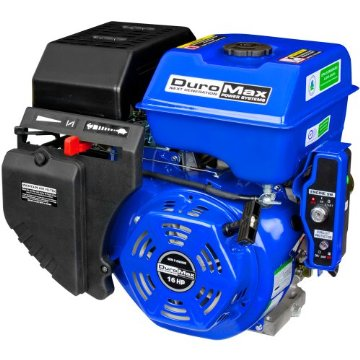 DuroMax XP16HPE 16HP 1 Shaft Recoil Electric Start Engine