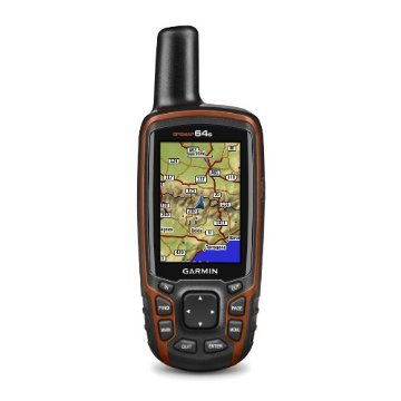 Garmin GPSmap 64s GPS and GLONASS Receiver with ANT+, Bluetooth