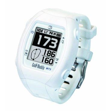GolfBuddy WT3 Golf GPS Rangefinder (White)