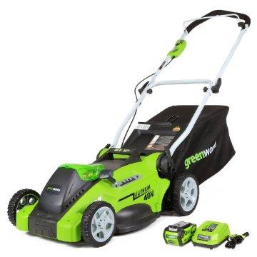 Greenworks 16 G-MAX 40V Li-Ion Cordless Lawn Mower (25322)