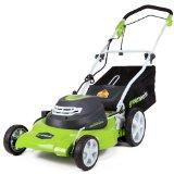 GreenWorks 20 3-in-1 24V Electric Lawn Mower (25022)