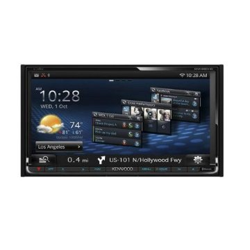 Kenwood DNN990HD eXcelon In-Dash Receiver with Bluetooth, WiFi, HD Radio