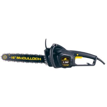 McCulloch MCC3516F 16 3.5HP Electric Chain Saw
