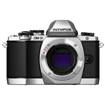 Olympus OM-D E-M10 Compact System Camera (Body Only, Silver)