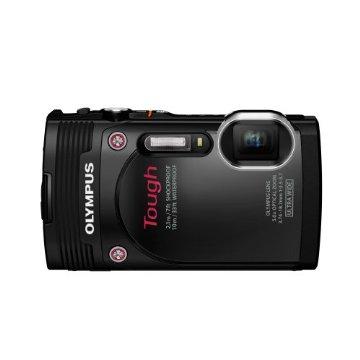 Olympus Stylus TG-850  Tough IHS 16MP Digital Camera (Black)