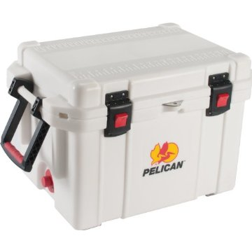 Pelican ProGear Elite Marine Deluxe Cooler (White, 35-Quart)